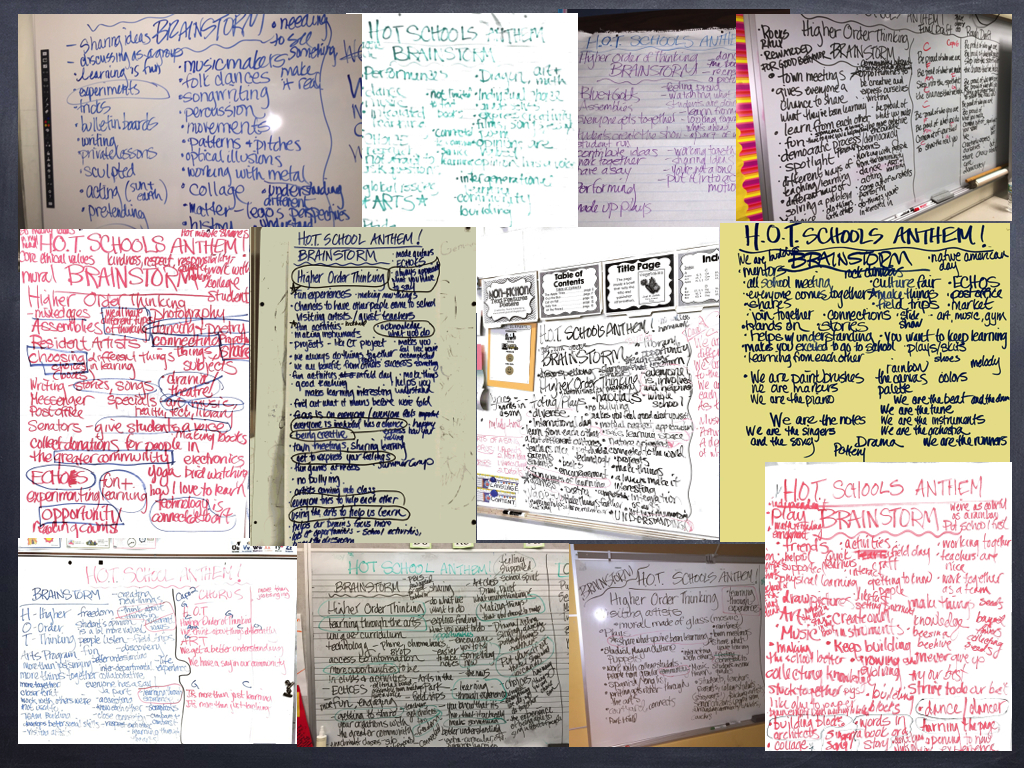 this is what 12 brainstorms look like.