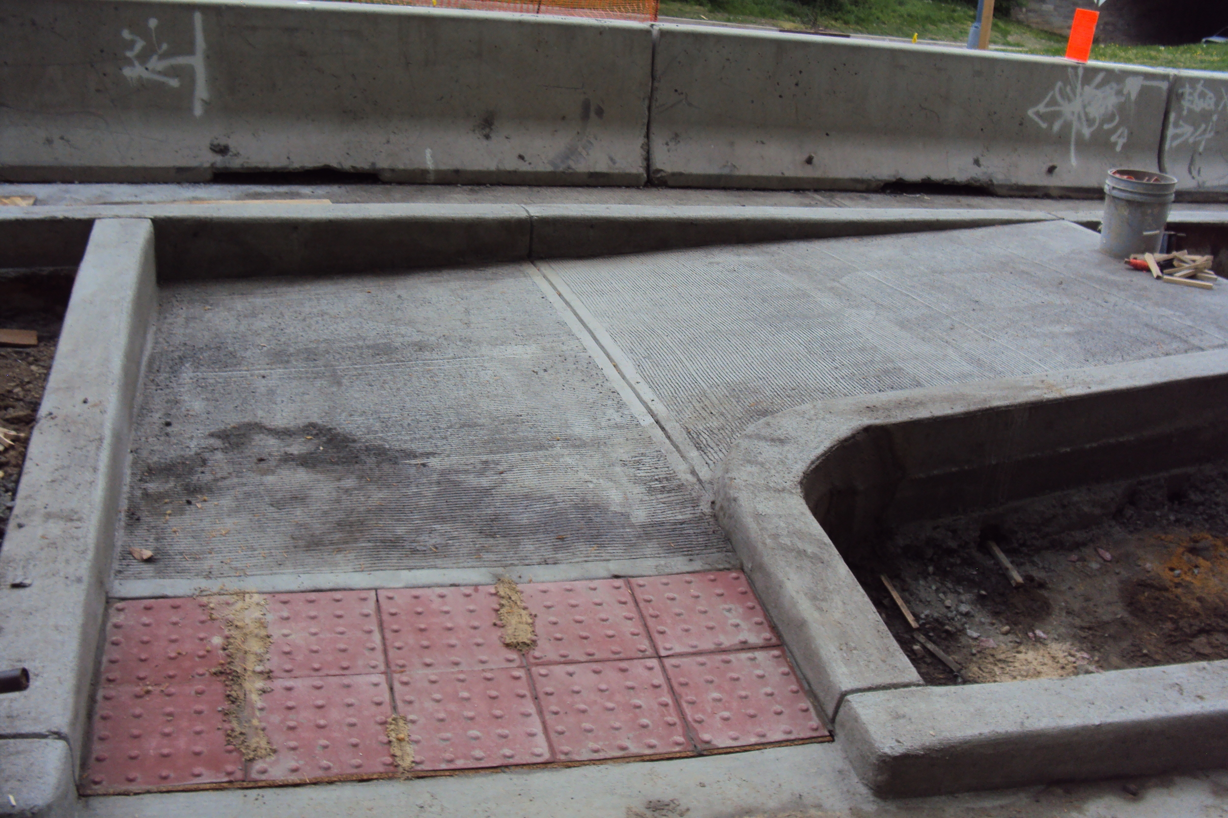 Paver joints filled and sealed to provide a tight fit