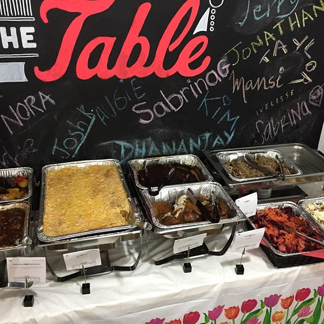 Totally lively office #lunch served by @smokedtogo #smoked meats with #macncheese and a few #healthysides brings the workforce together! #moralebooster #bbq #smokedchicken #brisket #crowdpleaser
