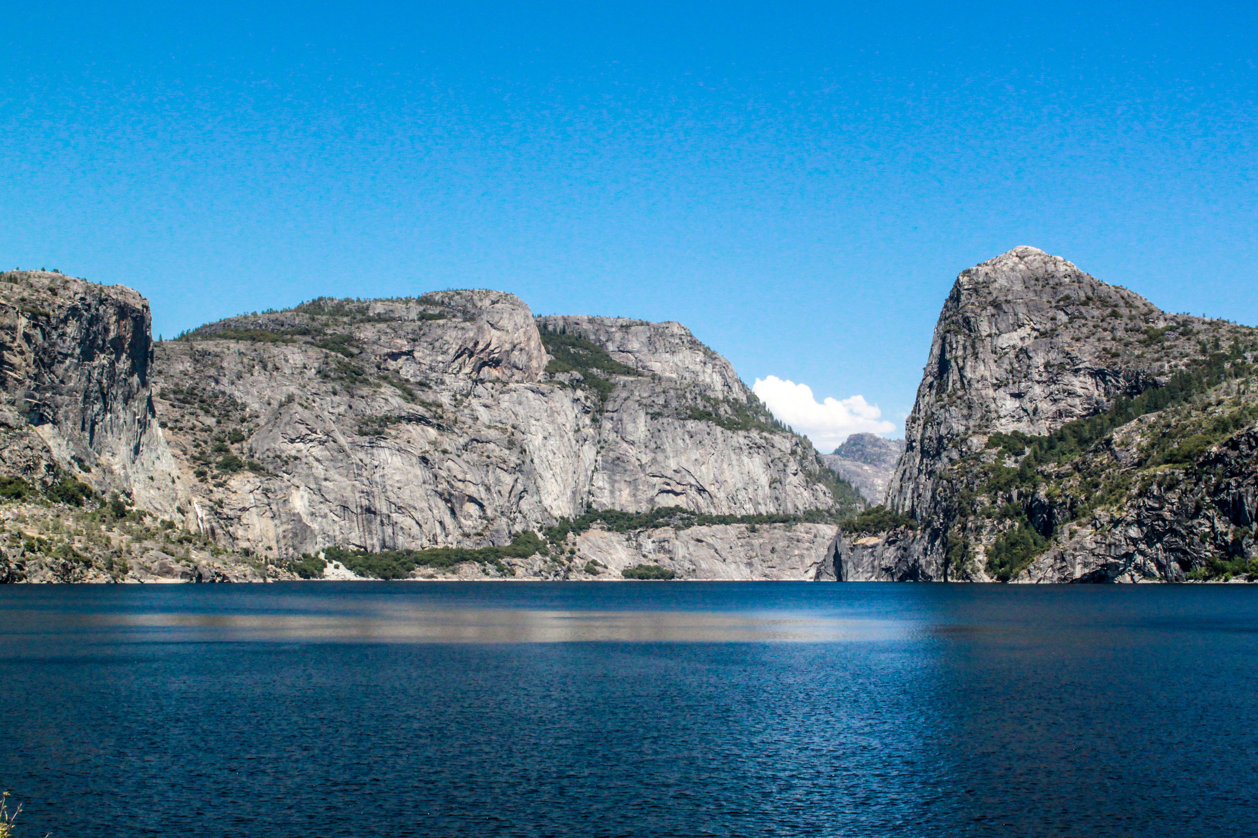 Hetch Hetchy Reserve from the O'Shaughnessy Dam, 2012
