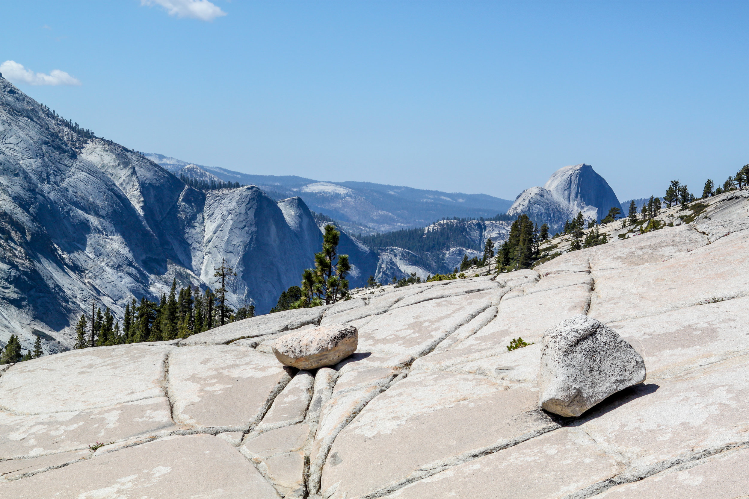 Looking North at Half Dome from Olmsted Point, 2012