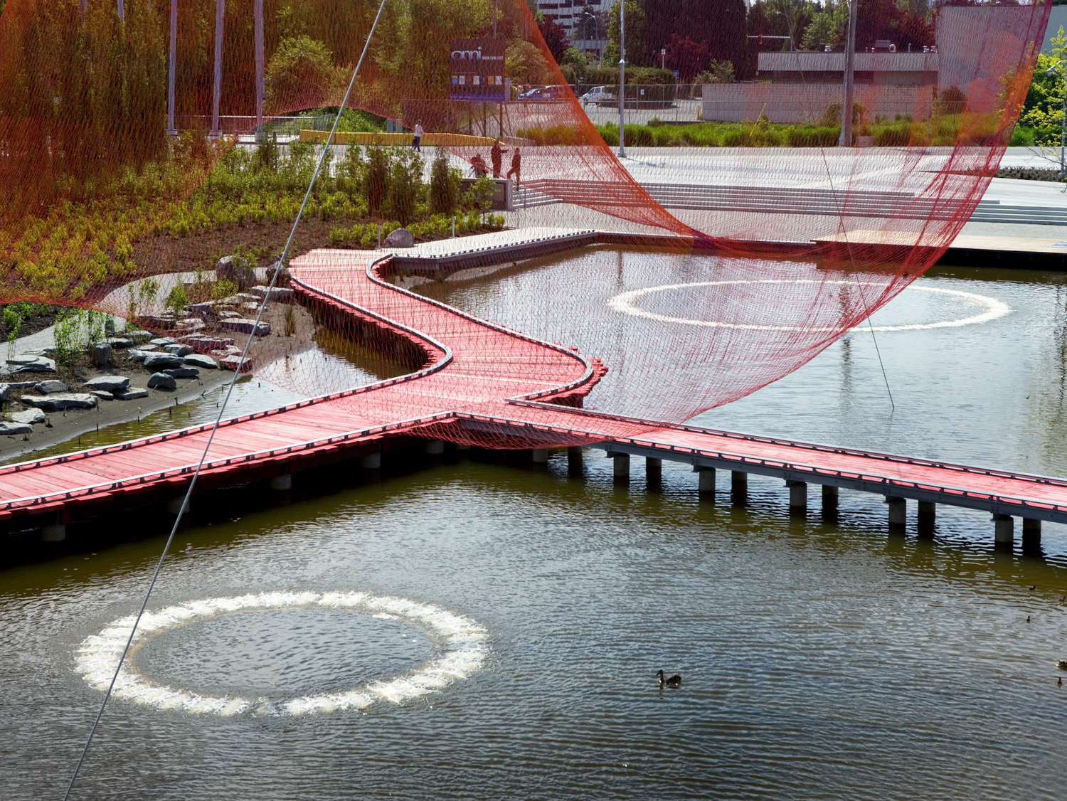 Richmond Olympic Oval water feature - Vincent Helton 6.jpg