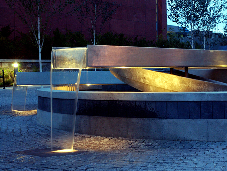 Concord Pacific Sprial water feature - Vincent Helton 2.jpg