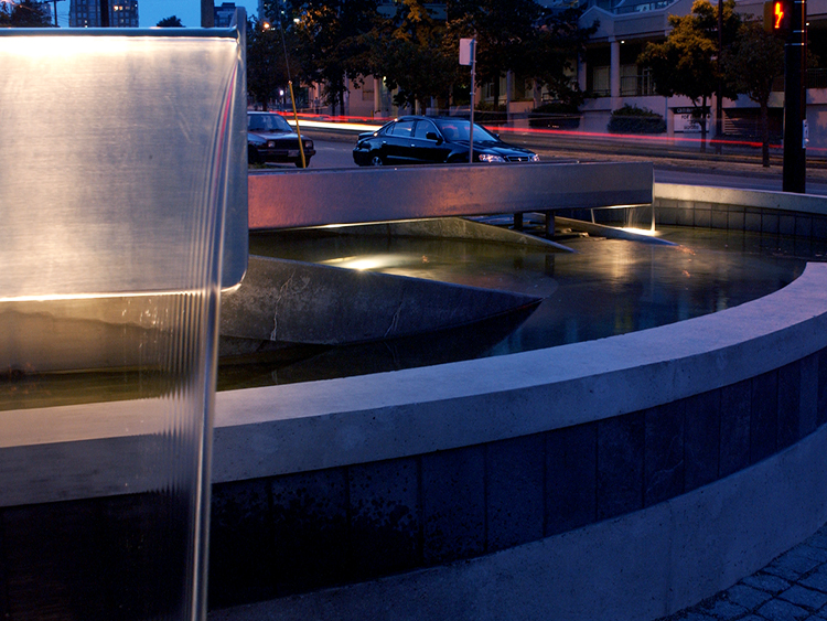 Concord Pacific Sprial water feature - Vincent Helton 1.jpg