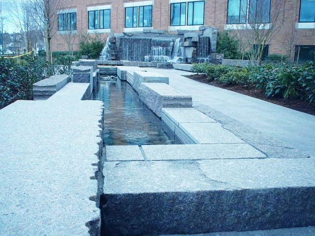 Fred Hutchinson Cancer Research Facility water fountain - Vincent Helton 1.jpg