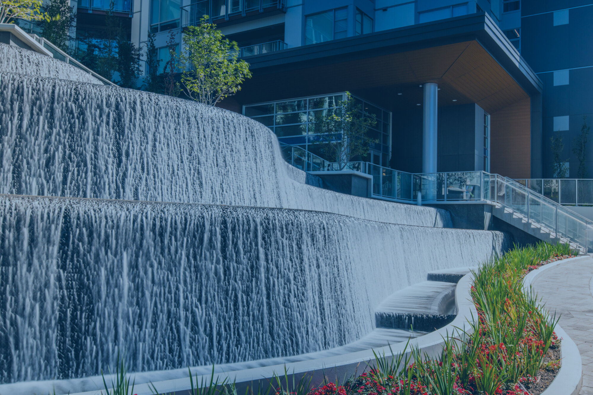 Vincent Helton Associates Commercial Water Feature And