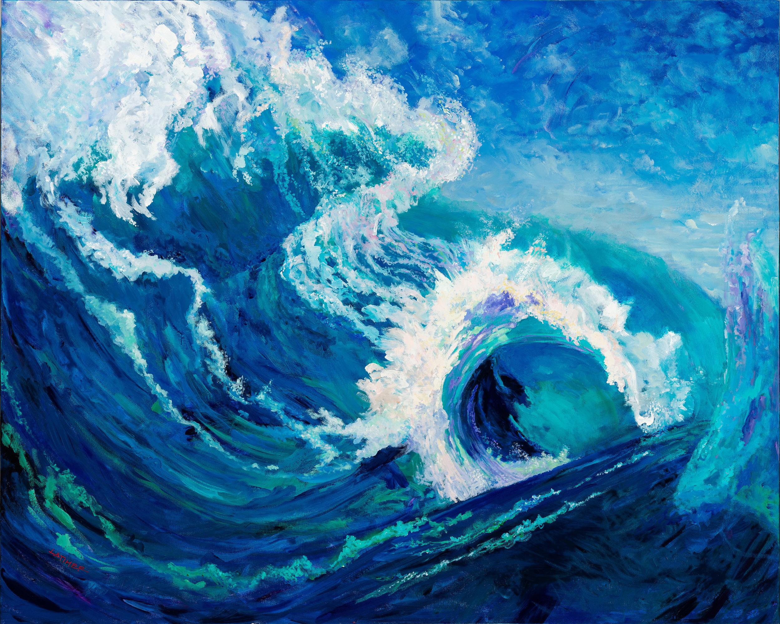 Tsunami of His Shalom by Latimer Bowen