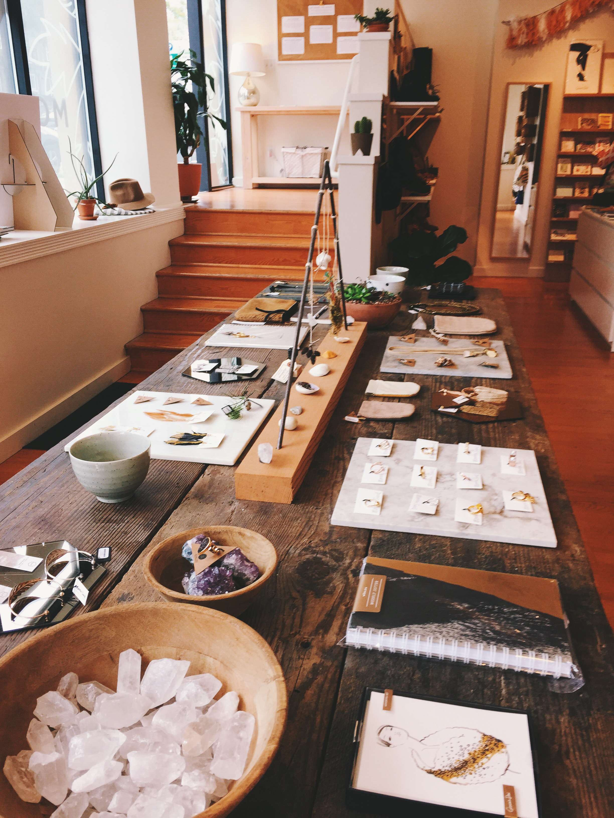 I have been a big fan of Moorea Seal for several months now, and I was finally able to head into her store in Seattle. Dreamy doesn't even begin to describe it!