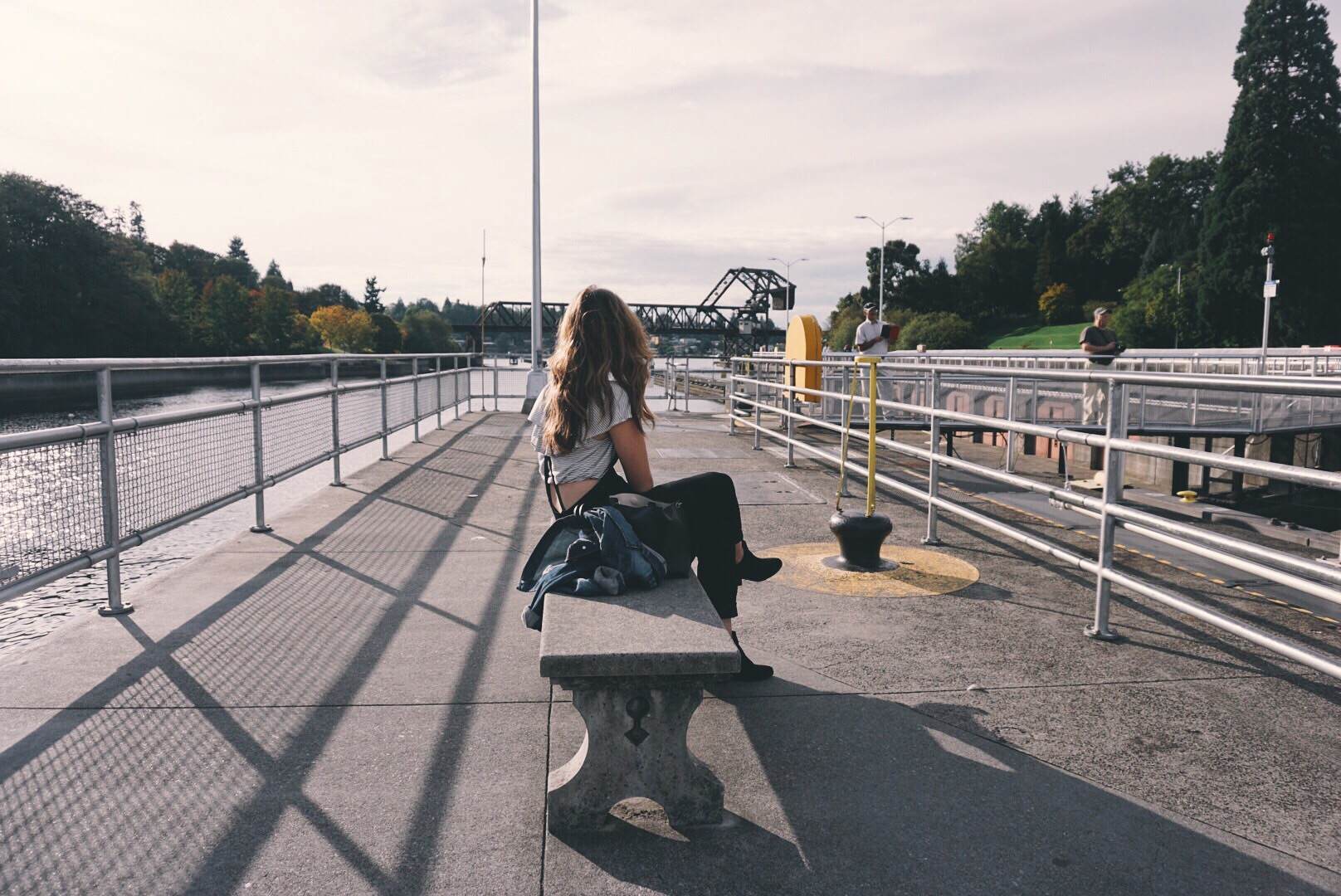 The Locks in Ballard. Quiet, serene, and perfect.