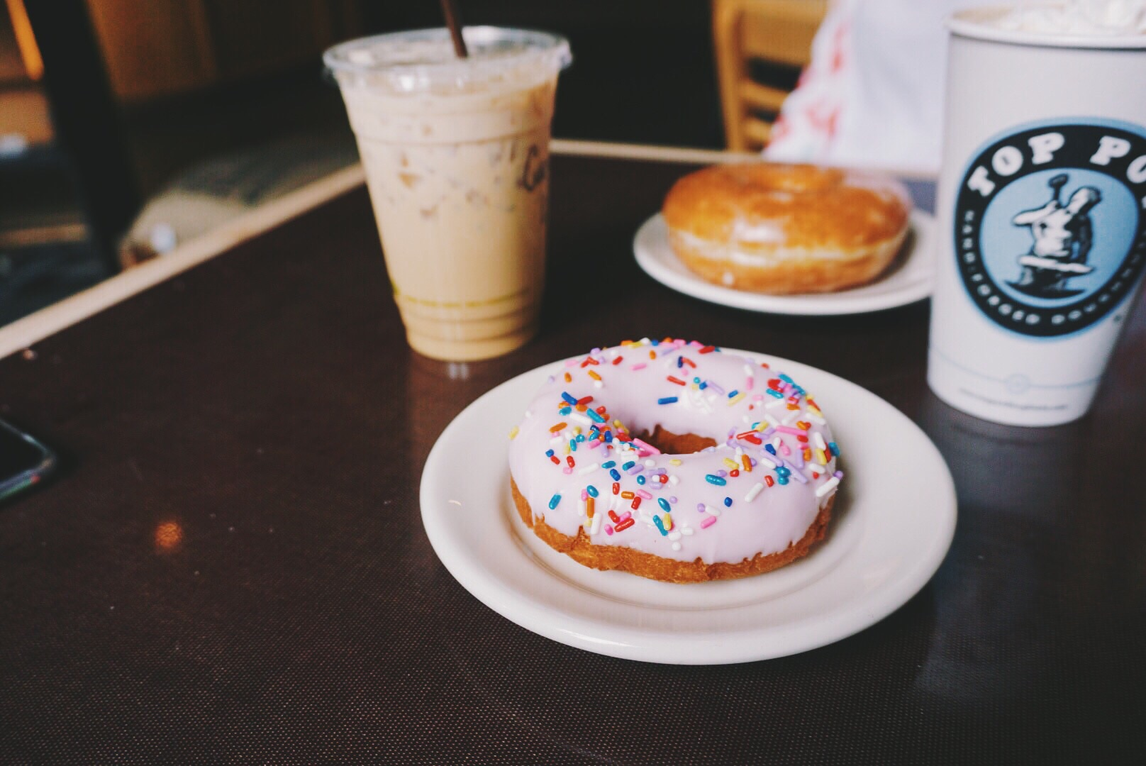 Top Pot Doughnuts quickly became a ritual for us.