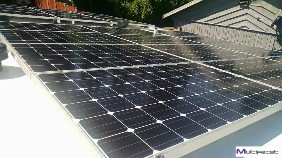 Solar panels Shoreline, WA