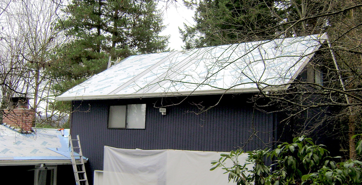 Residential Metal Roof Bellevue, WA