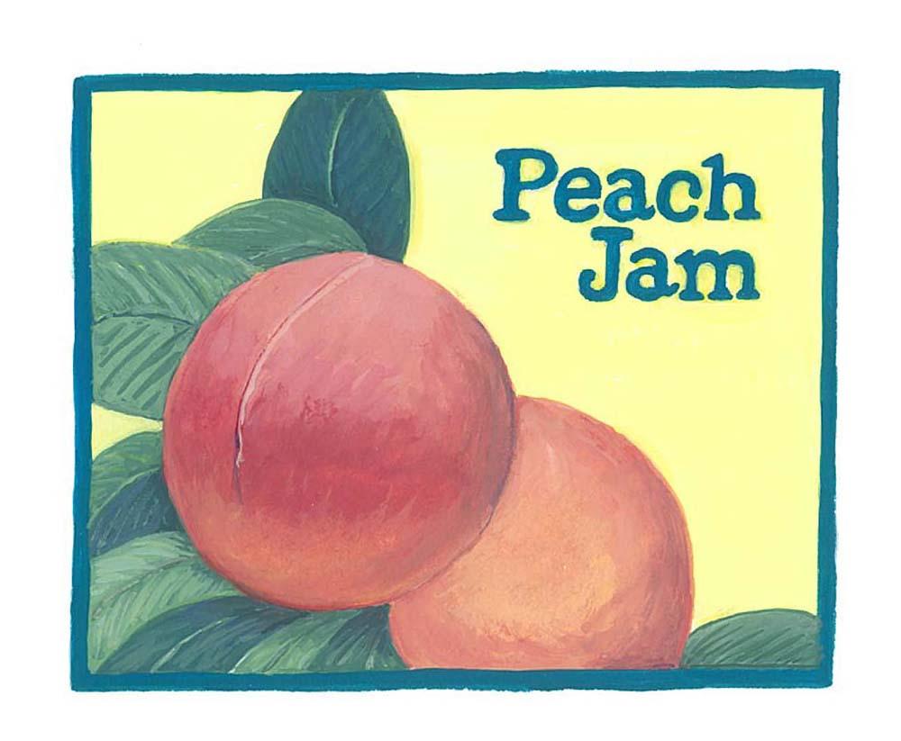 Label for homemade jam