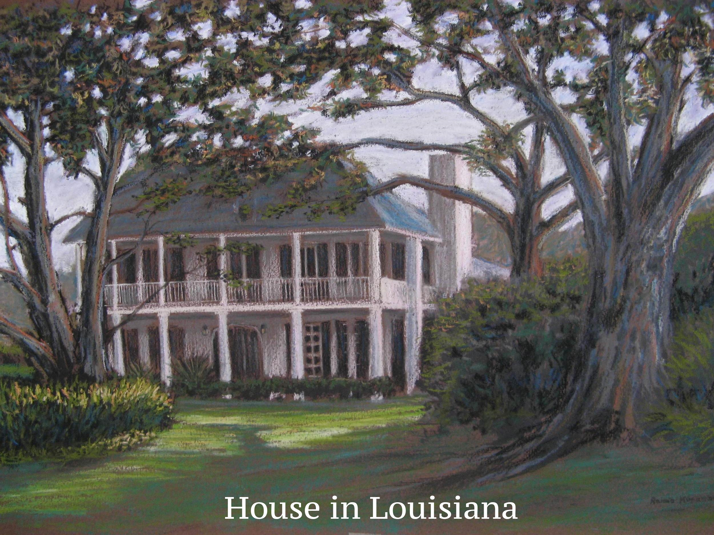 House in Louisiana, LSU lakes