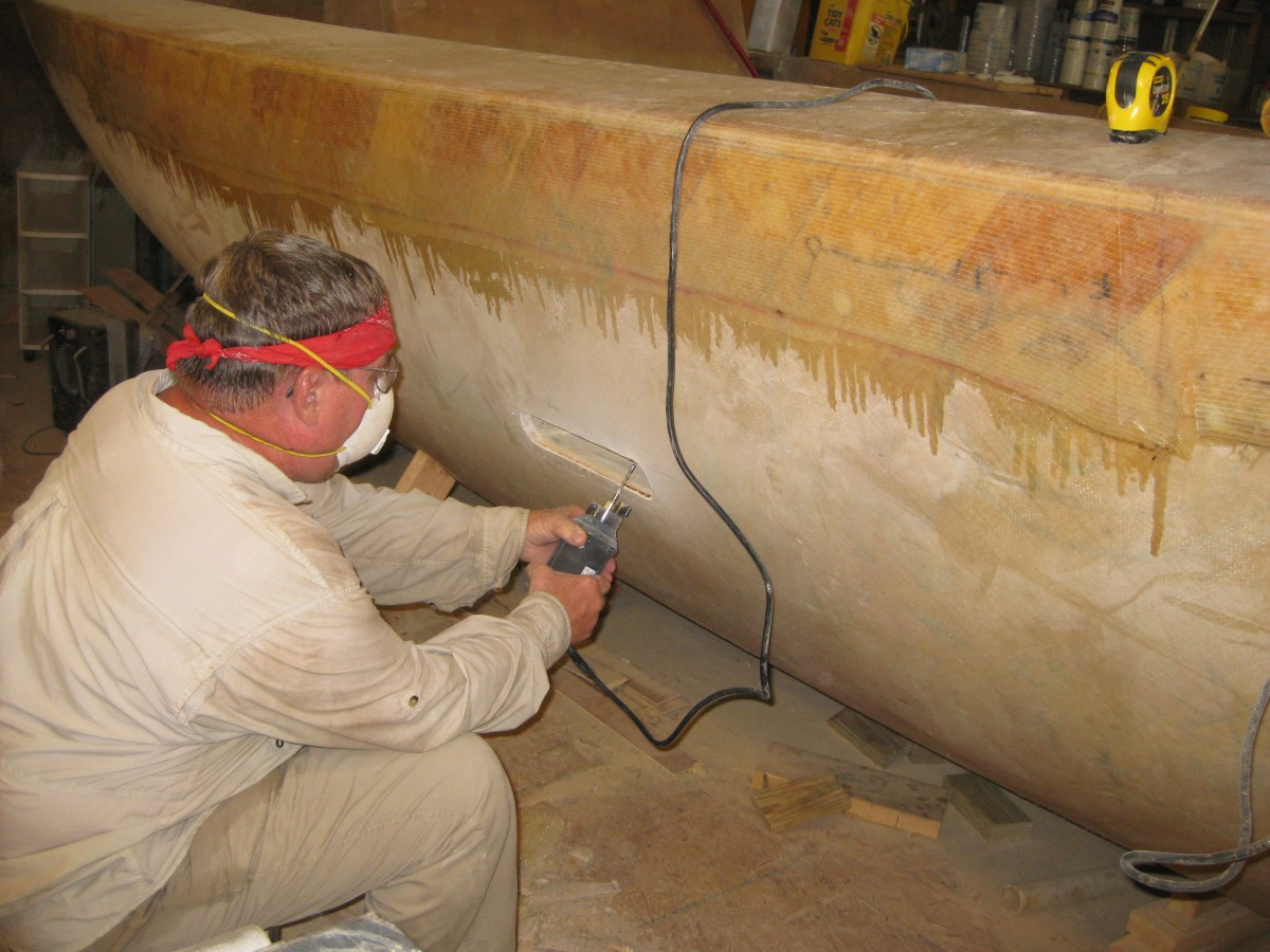 Larry shaping scupper