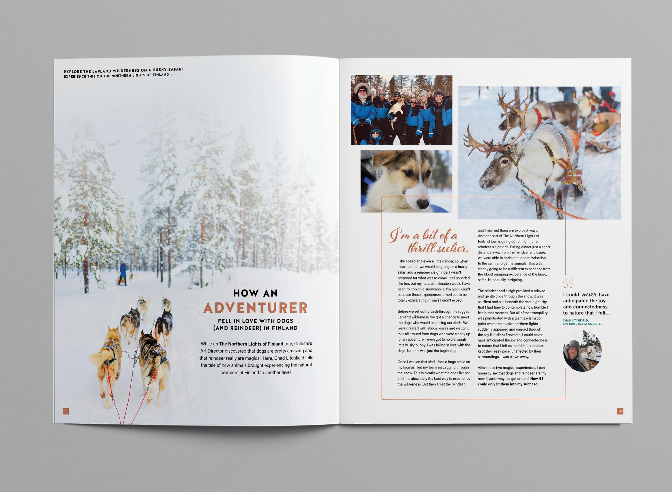 Finland Dogsledding Editorial