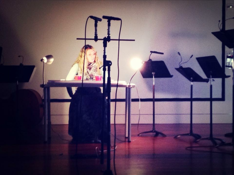 Performing music by Jessie Marino at Stanford