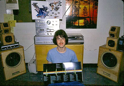 A dorm room from the 70s. This guy knows how to move air :)