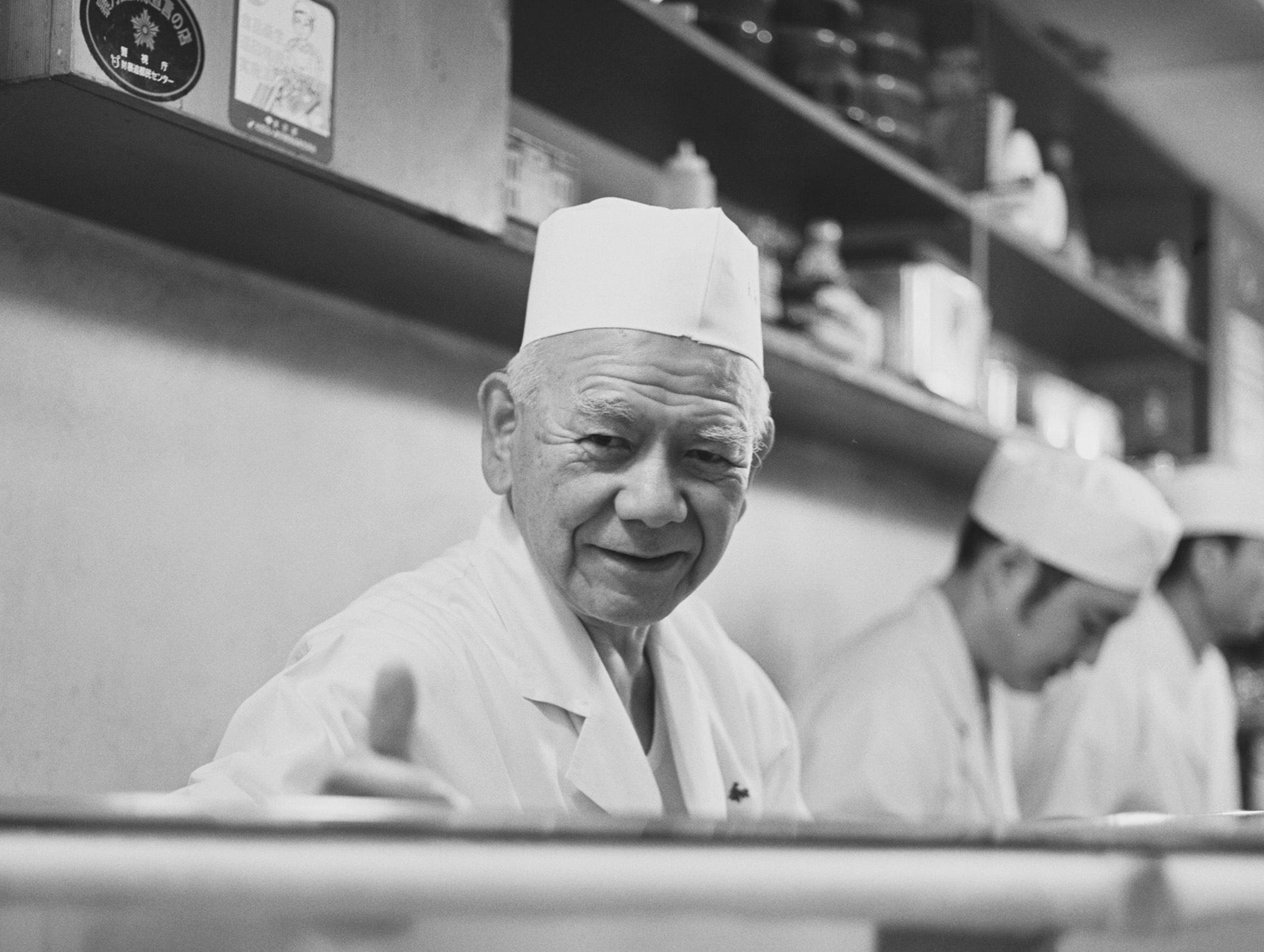 Portrait Sushi Chef Japan