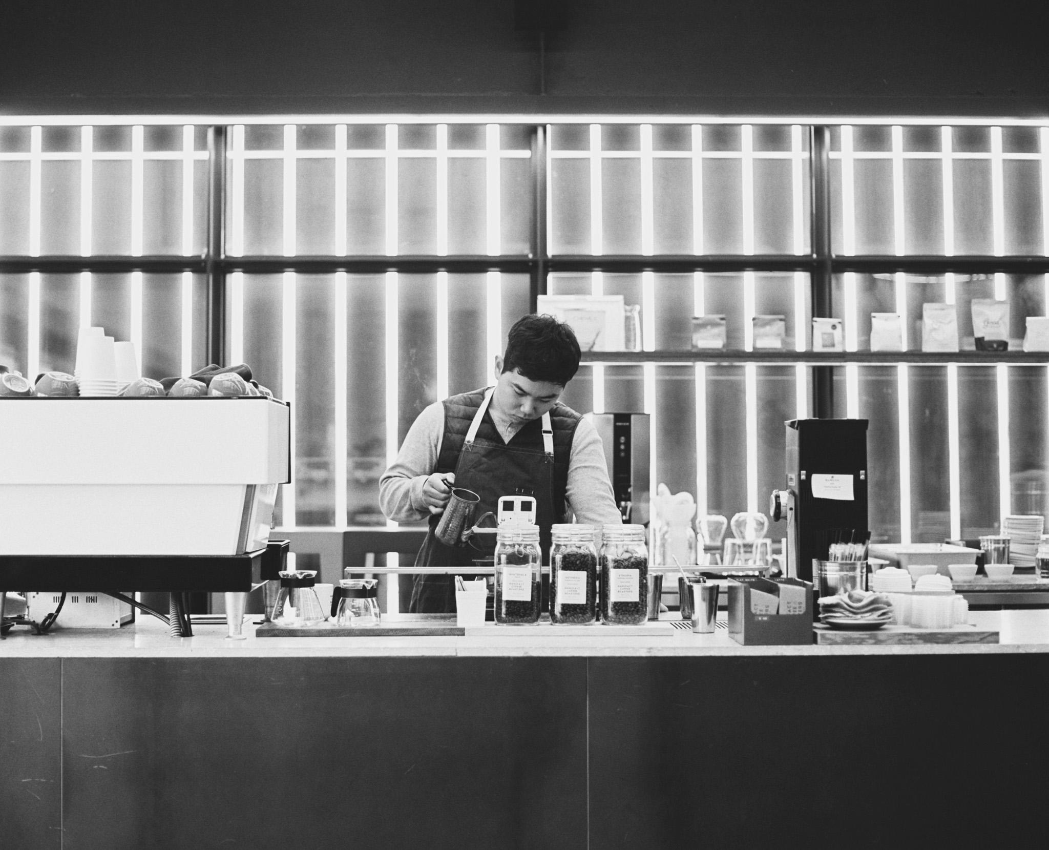 Manufact Coffee Roasters Barista