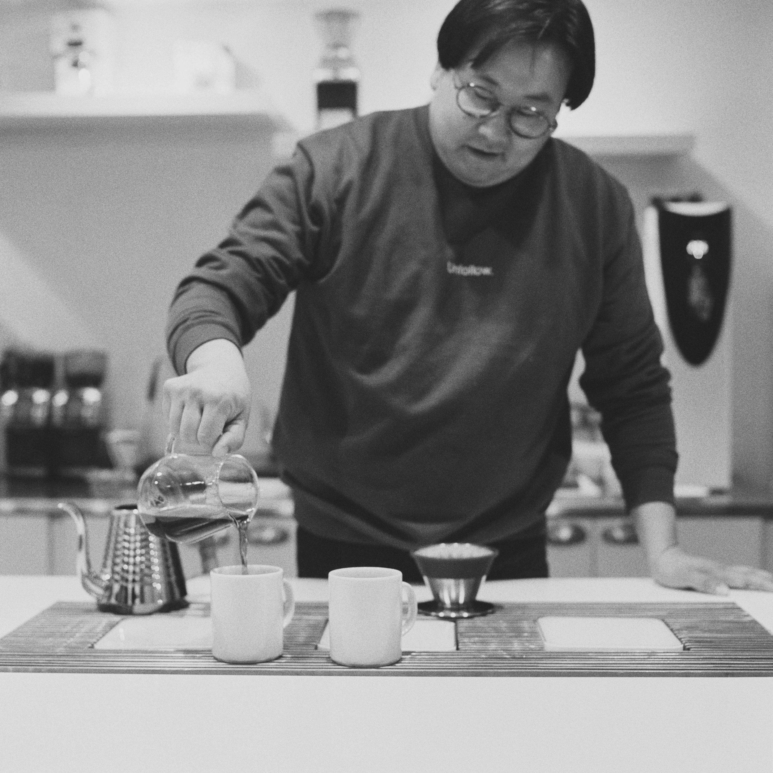 Nick Cho of Wrecking Ball Coffee