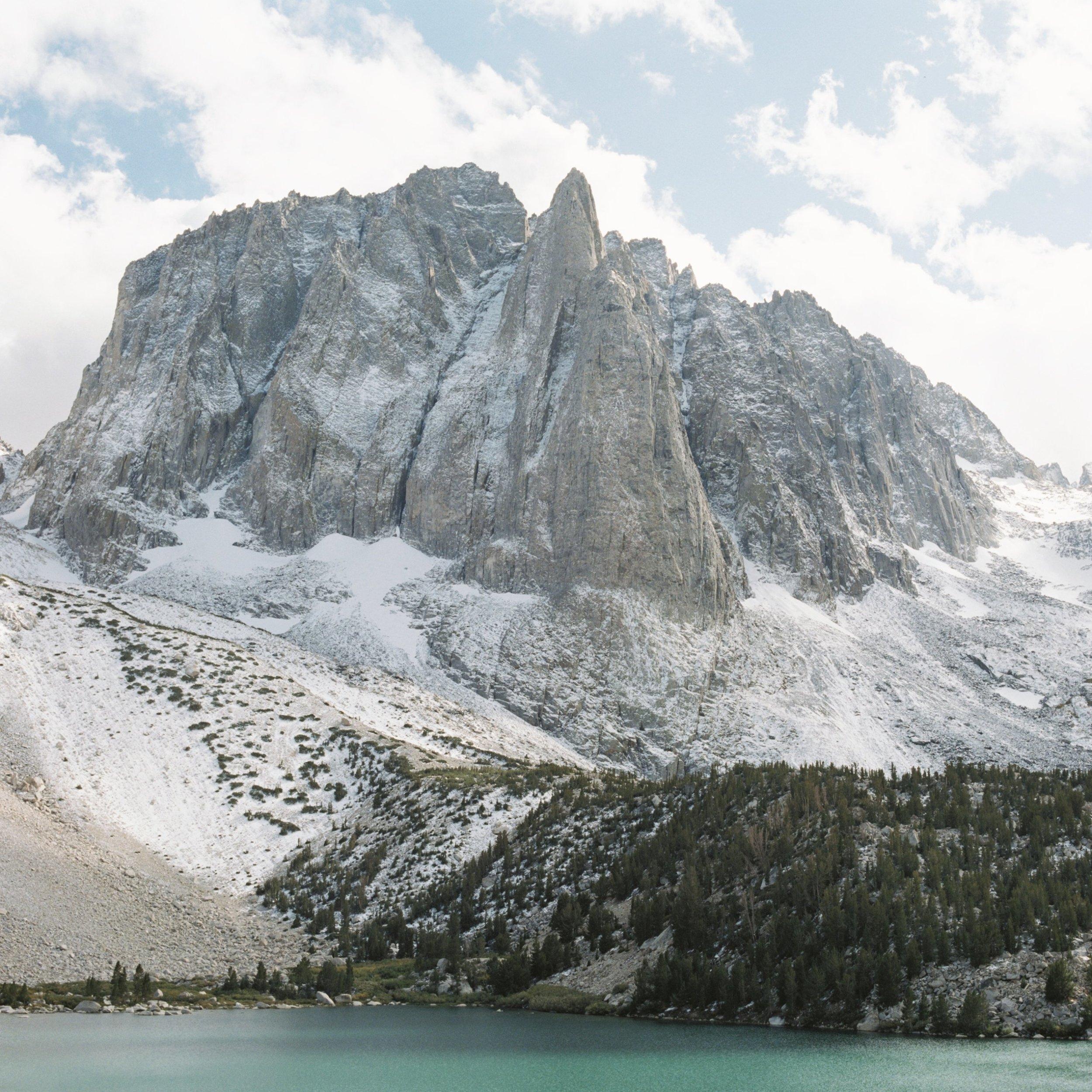 Big Pine Lake Eastern Sierras