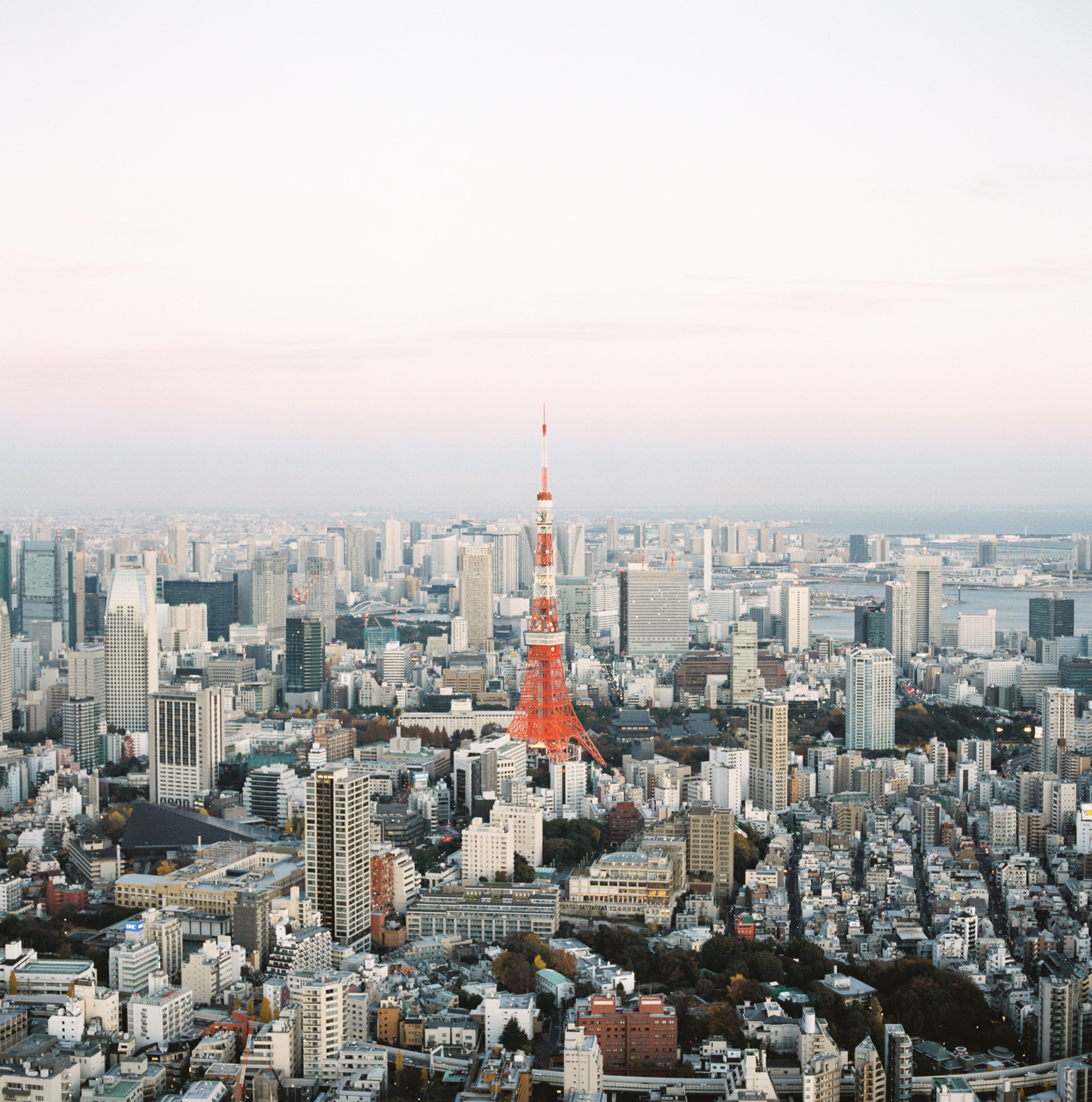 Tokyo Tower Sunset