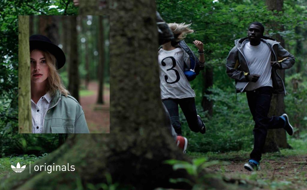 Adidas Originals Fall 2011 campaign imagery