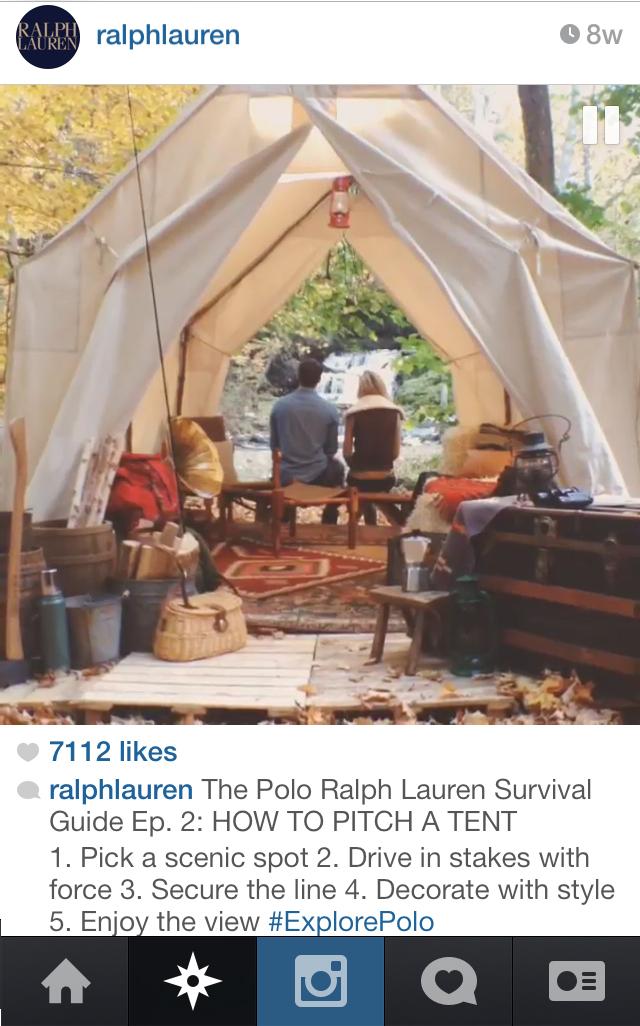 On @ralphlauren instagram.
