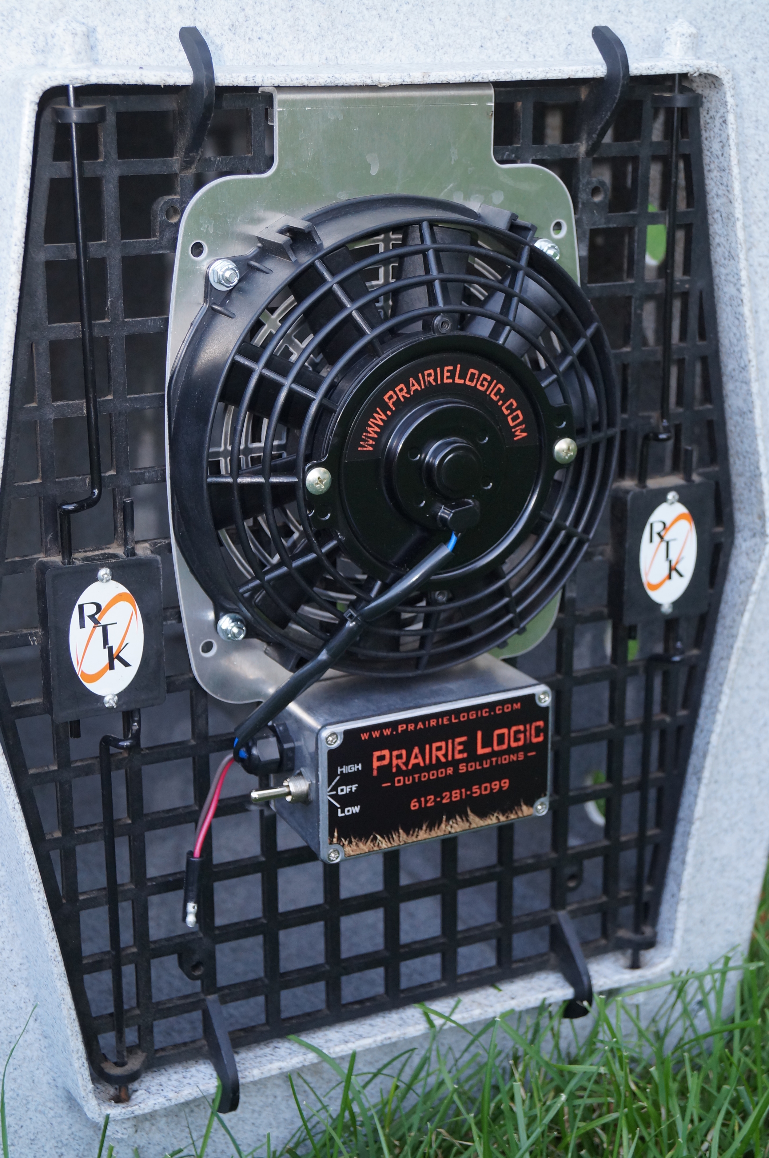 "7"" Kennel Fan"