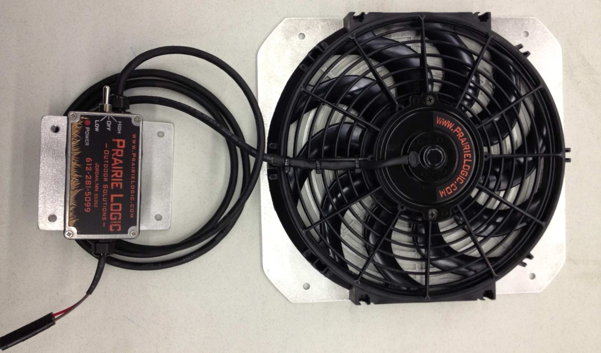 "Custom 9"" Kennel Fan"