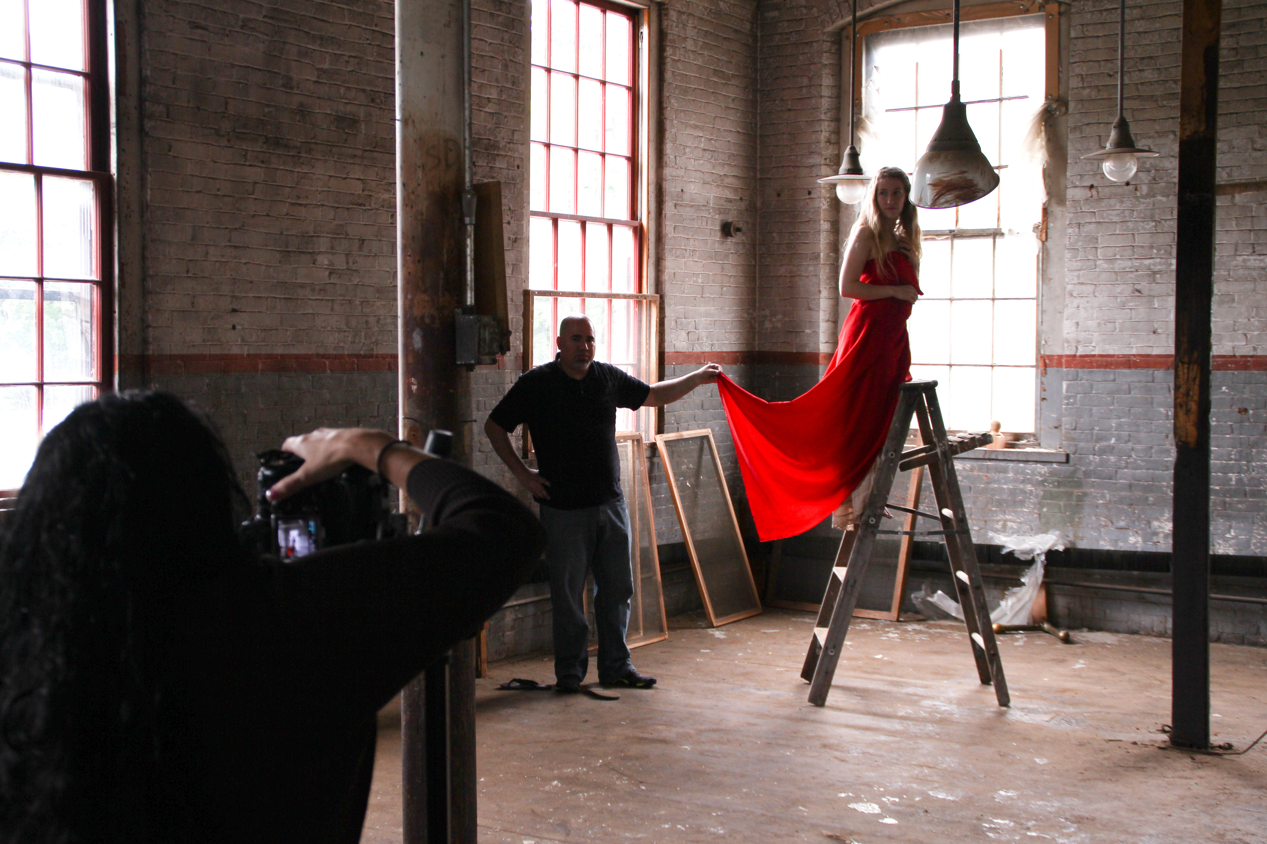 Brooke Shaden workshop at my 2nd studio -BSP West