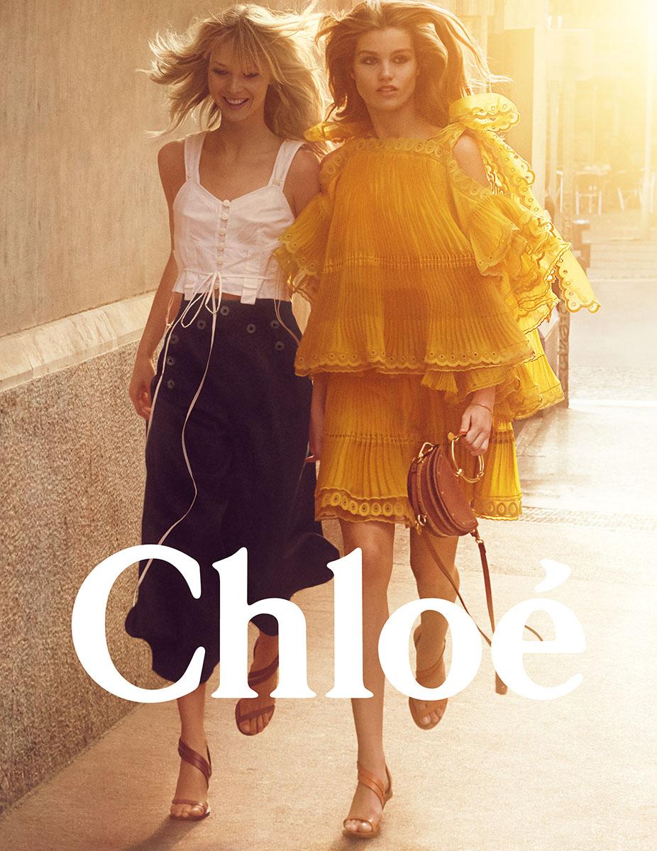 Chloe Spring 17 Campaign