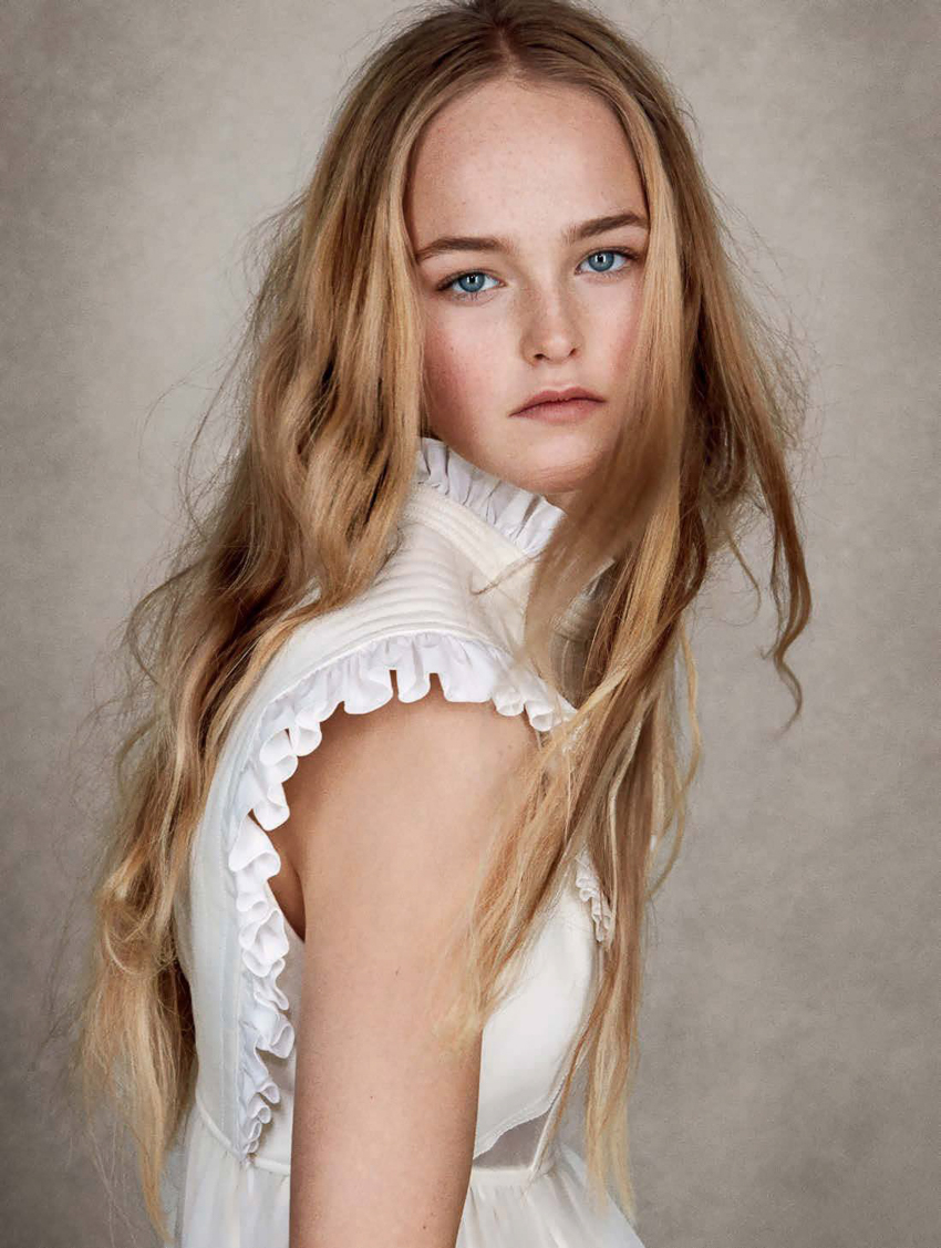 Jean Campbell By Patrick Demarchelier