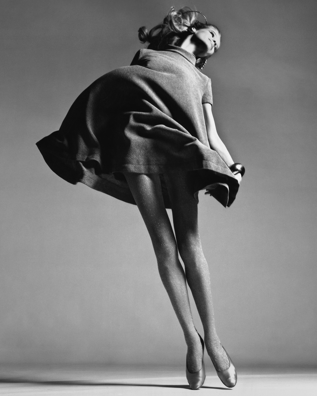 Veruschka, dress by Bill Blass, New York, January 1967, Edition
