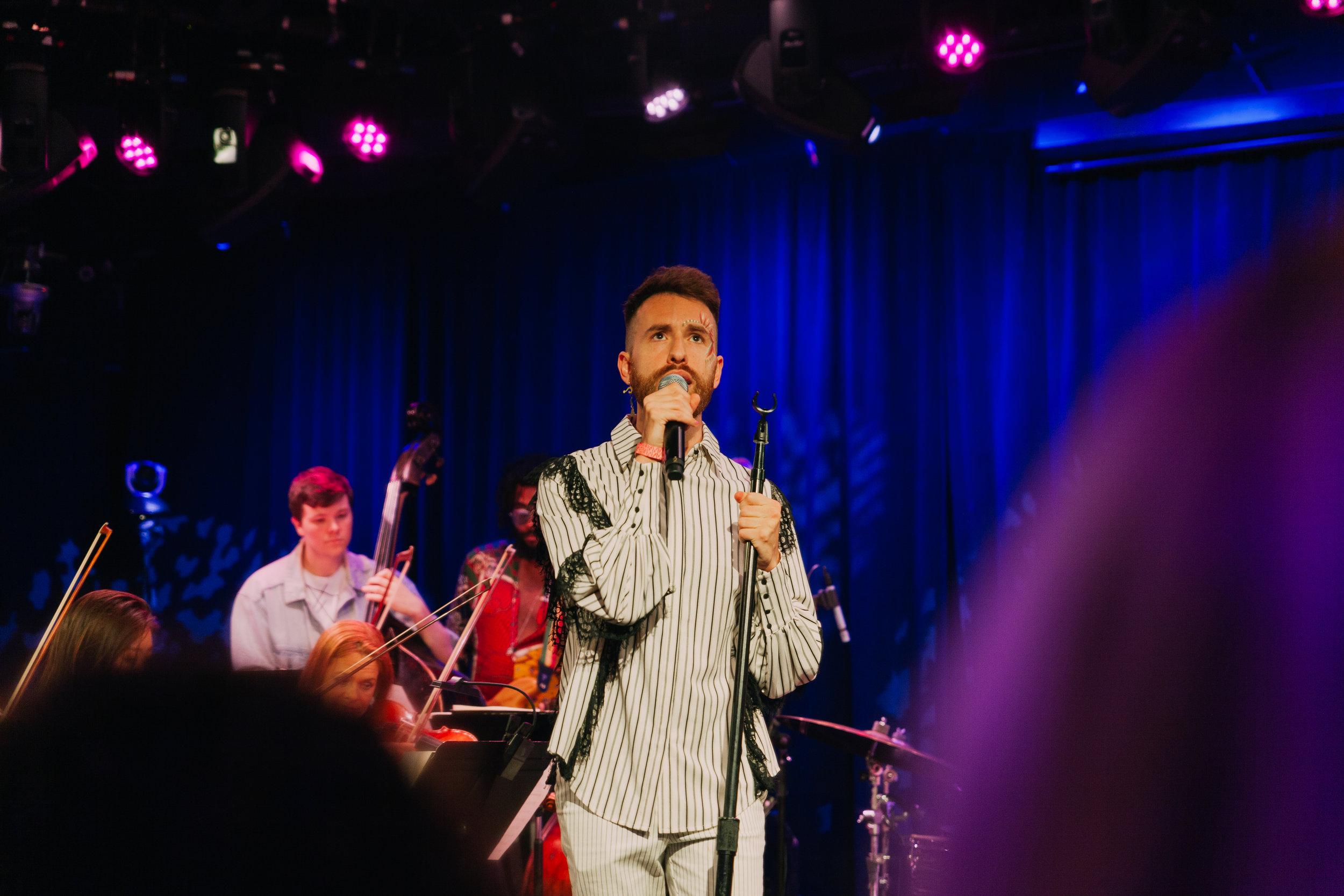 Vocalist & Stonewall Ambassador Michael Blume