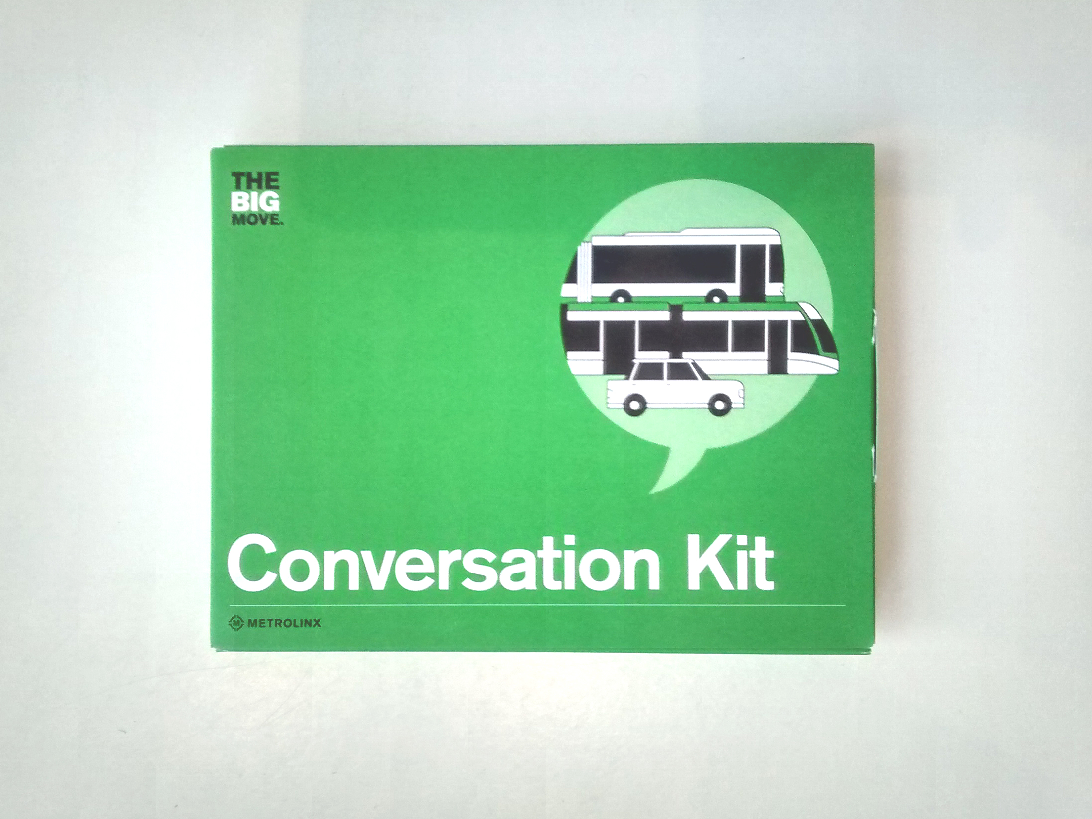 Over 1,000 Big Move Conversation Kits were distributed throughout the consultation process.