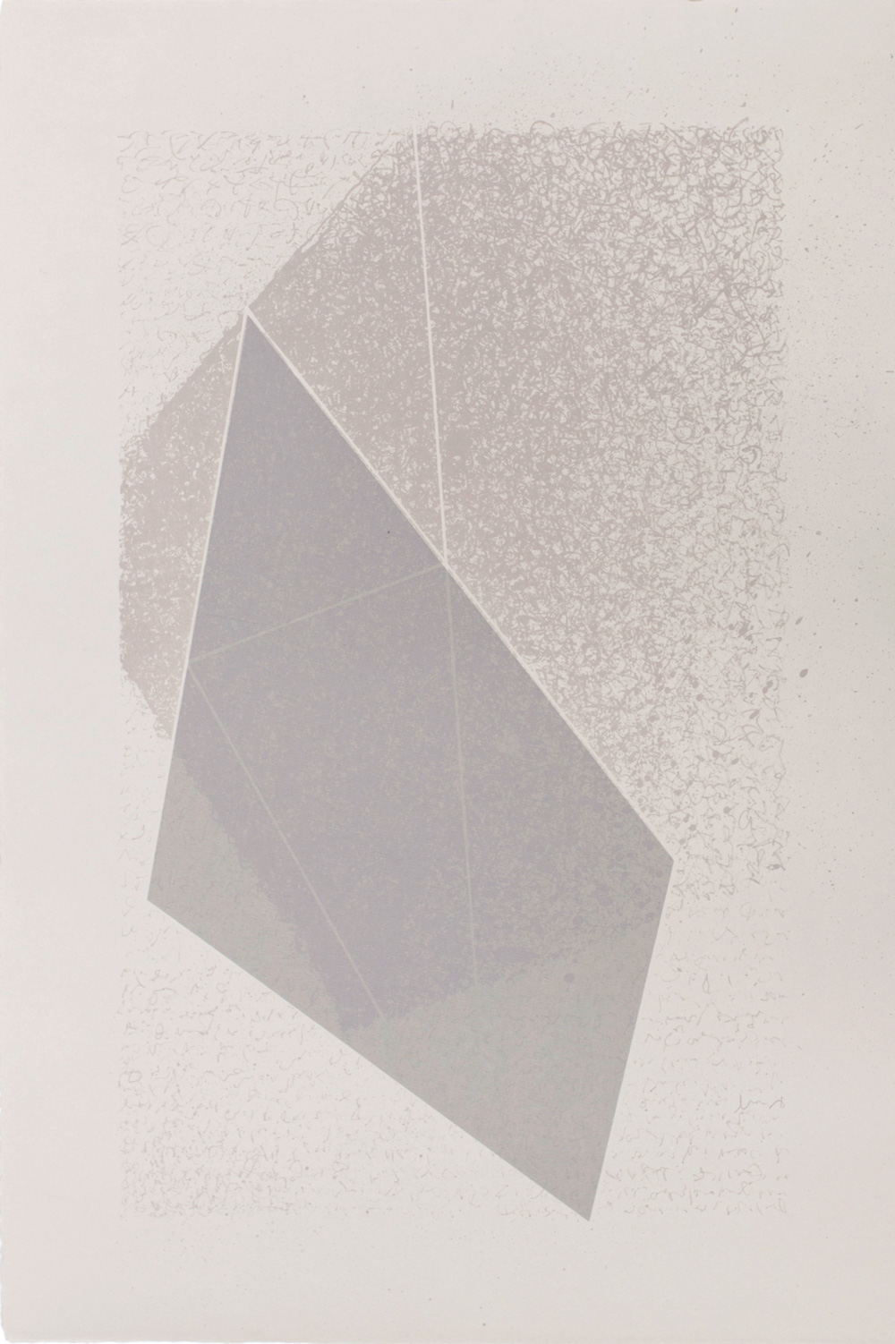 Albuquerque Colour Cube,  2015, Lithograph, 50 x 35cm