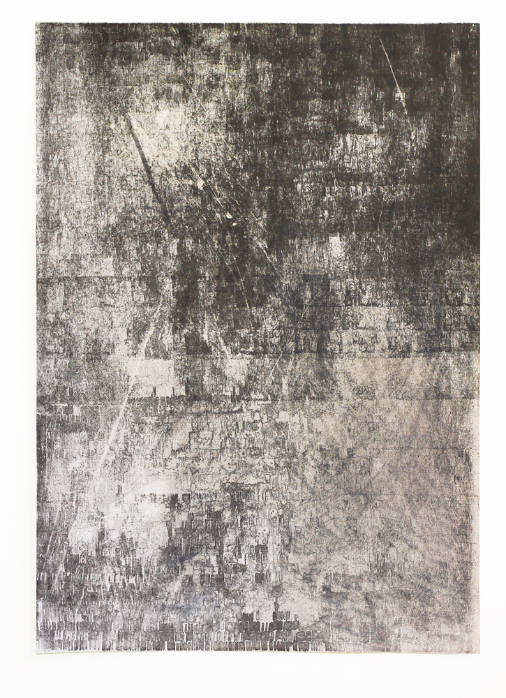 Soft Copy  2015, 50 x 70cm Altered Lithograph