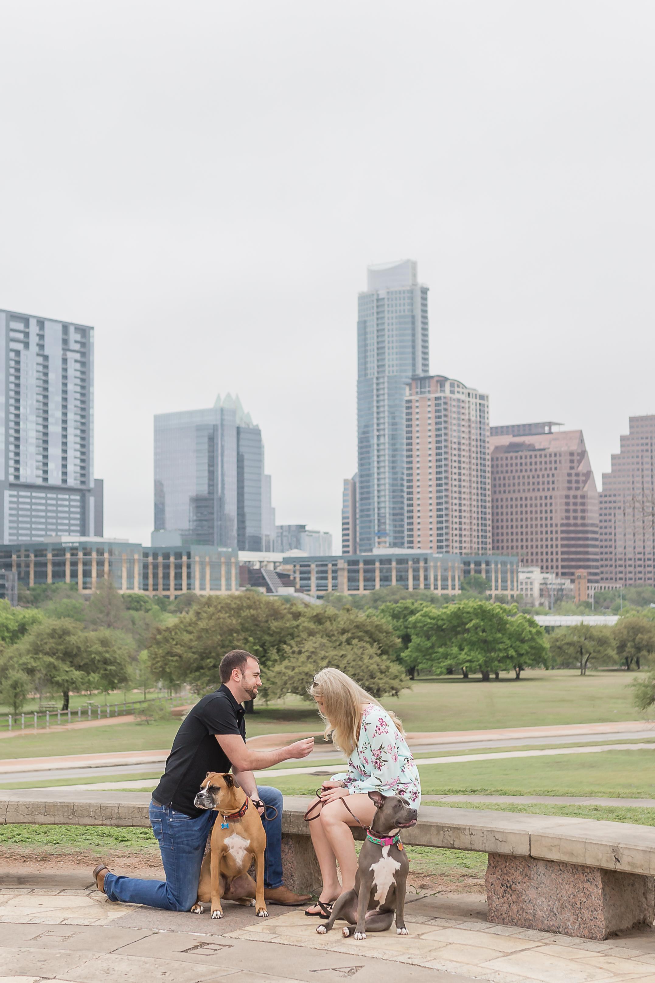 Austin Texas Proposal Photography