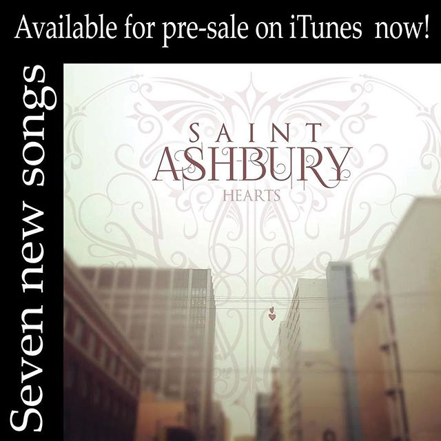 New Music released March 1st!!! #hearts #saintashburyhearts #newmusic #americanamusic #mountaindream #mynewson #highroad #addiction #cooldesire #stolengoodbye #amuse #itunes