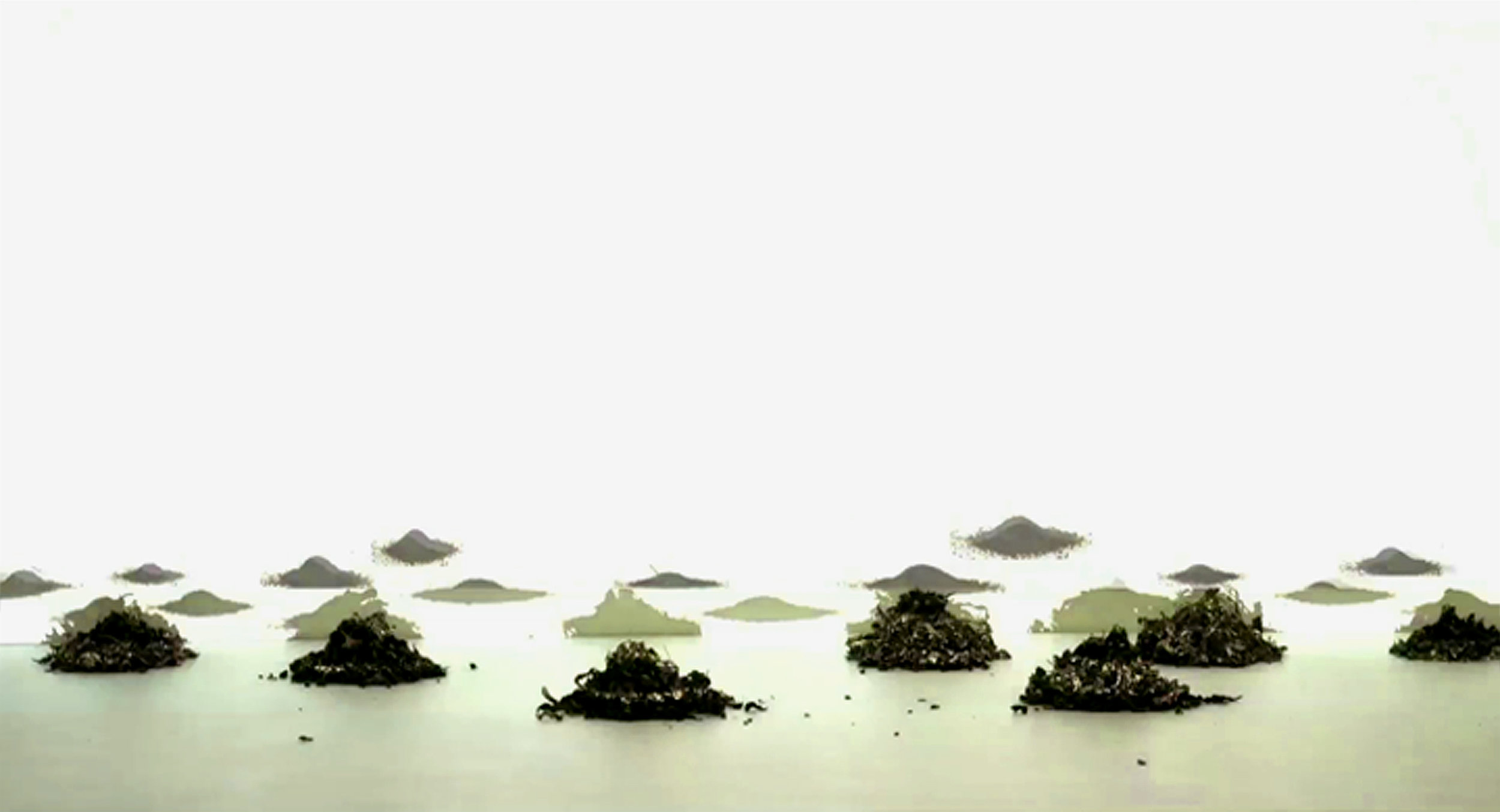 The Acculmulation of Dreams (excerpt)    Excerpt from video portion of installation tea leaves, single channel video