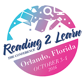 There's still room at the October Reading2Learn Conference in Orlando, FL.  Click here  for details and to register!