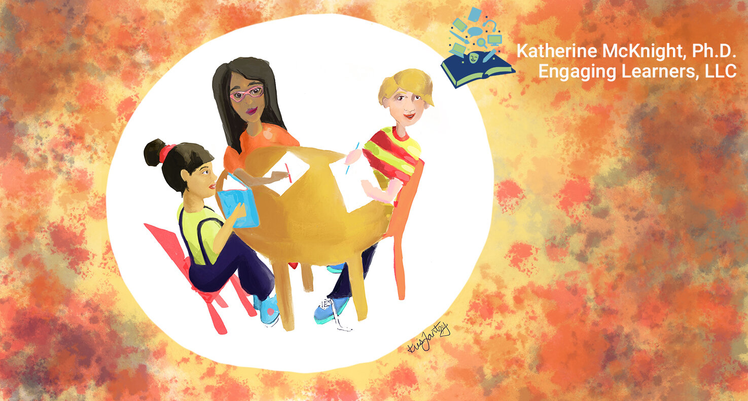 Artwork by Kris Lantzy for EngagingLearners.com