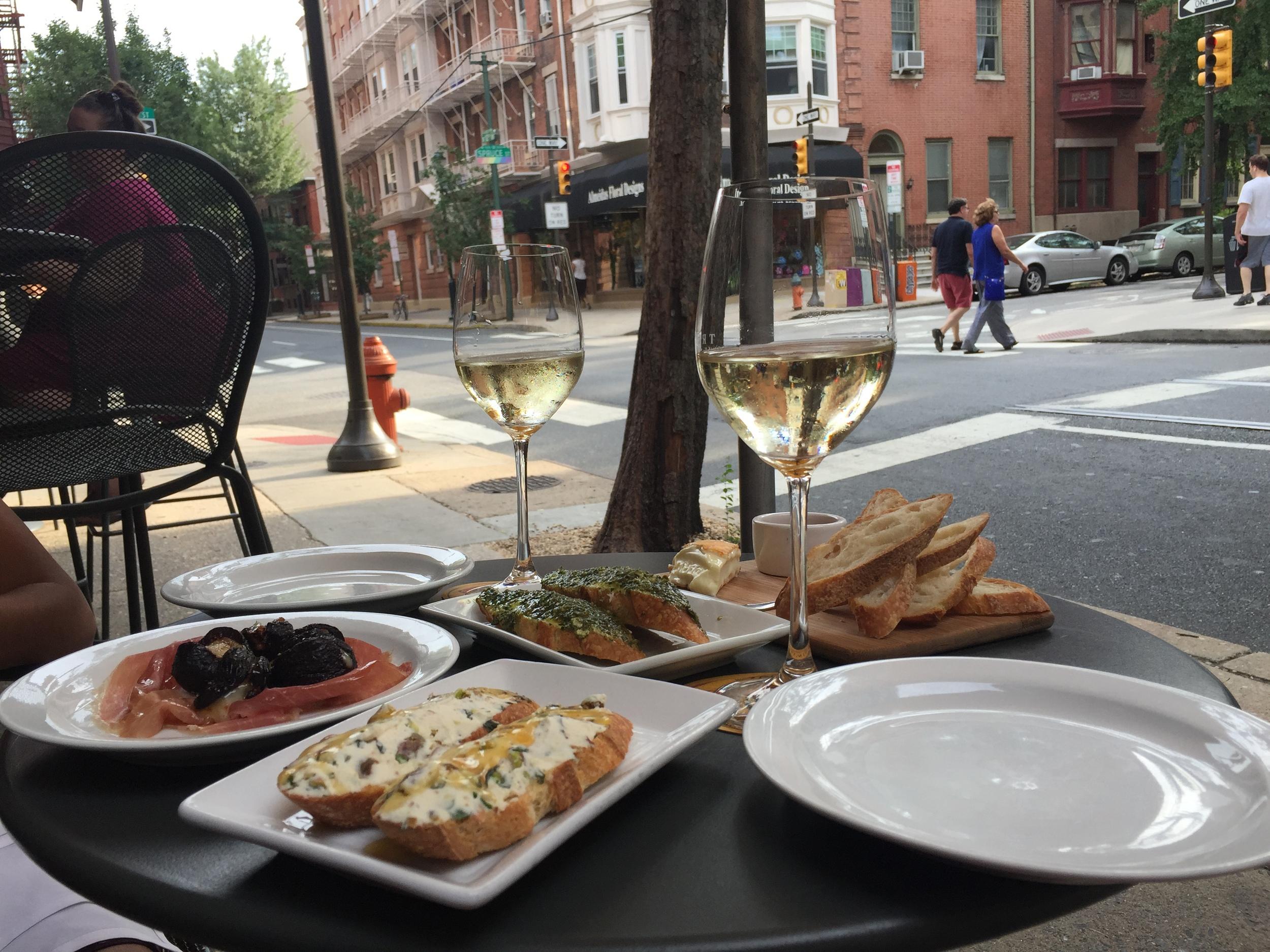 Tria Cafe Jens Bucket List Philadelphia