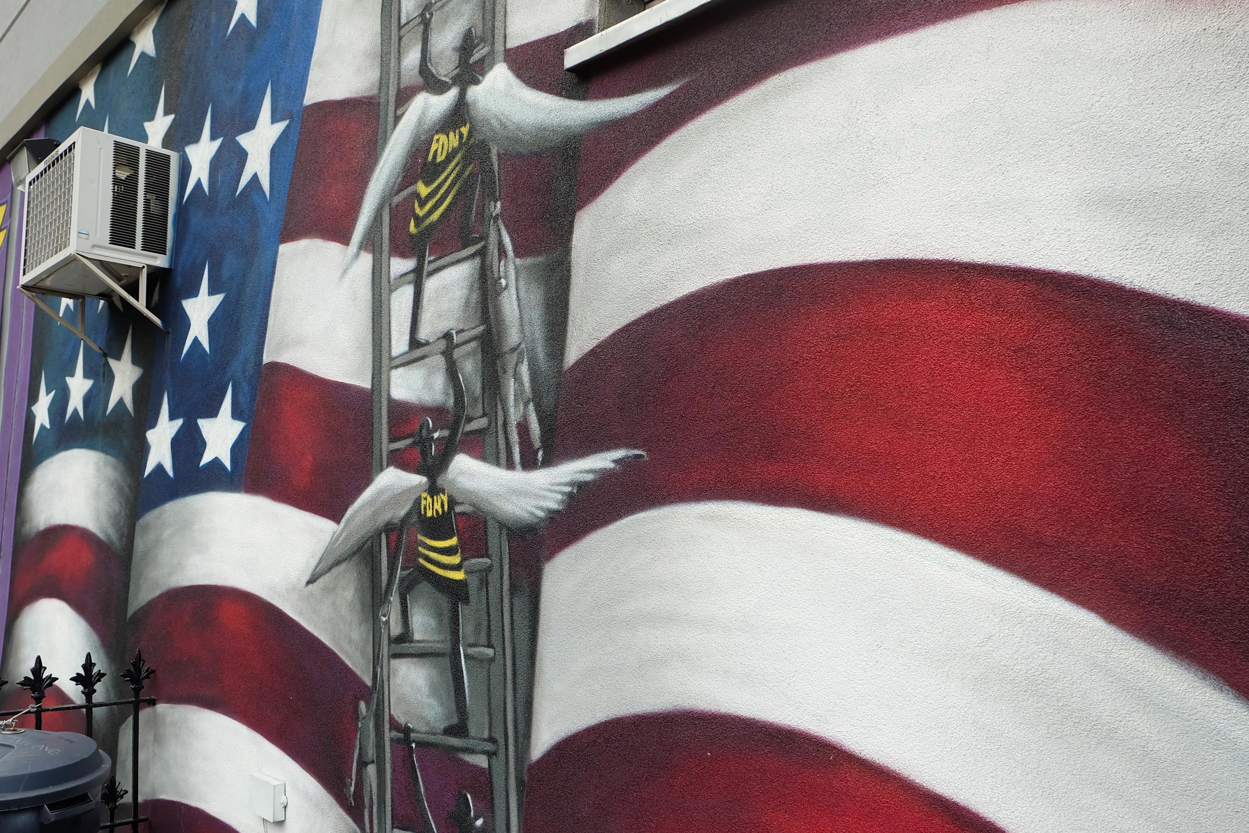 Williamsburg Graffiti Brooklyn FDNY Jen's Bucket List