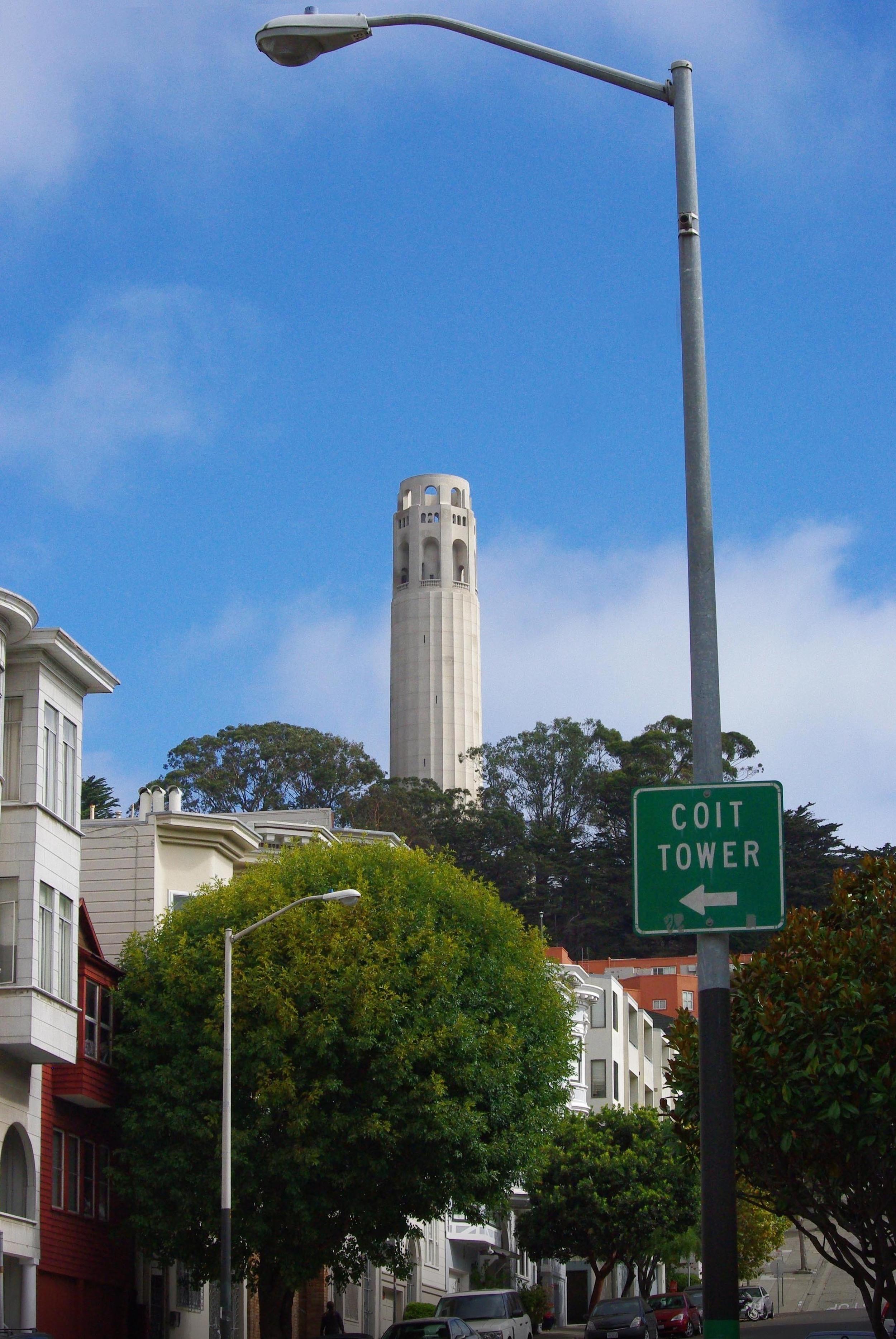 6.Climb Coit Tower