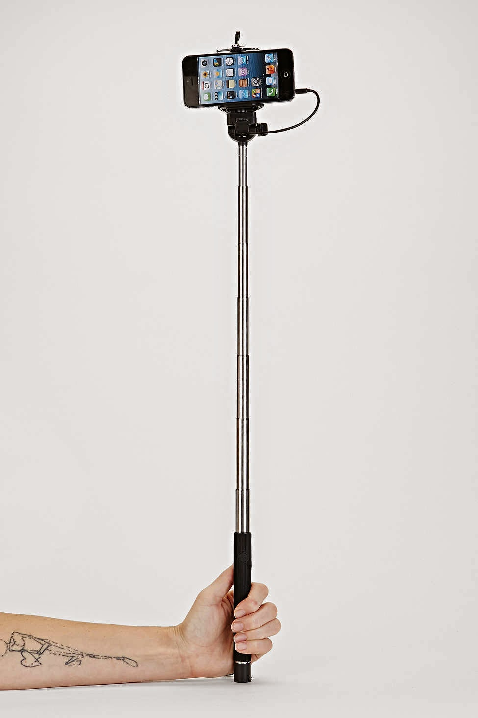 15.      Selfie stick    ($20) Bring your selfies to the next level. Sure, you'll look ridiculous, but isn't it better than having to constantly ask someone else to take a photo?