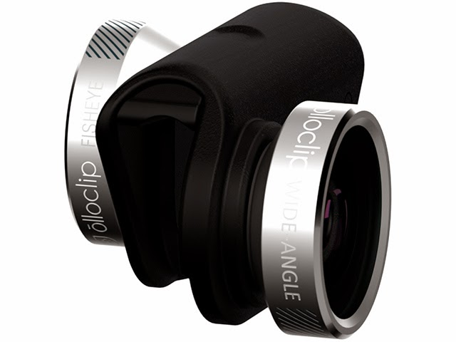 18.      Olloclip 4-in-1 Lens for the iPhone 6/6 Plus    ($79.99) This versatile lens is pocket-sized and now works both on front and back phone cameras.