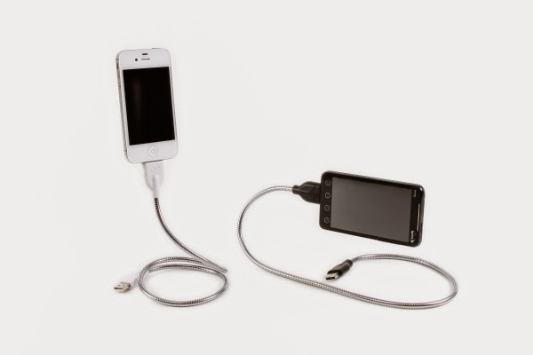 20.      Une Bobine    ($9.99) This bendy charger works like a tripod allowing you to take photos as if on a tripod while it charges.